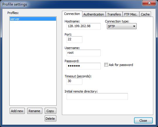 n4 - Notepad++ 透過 SSH 進行遠端編輯