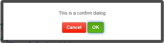 alert1 - 使用 Alertify.js 美化訊息視窗
