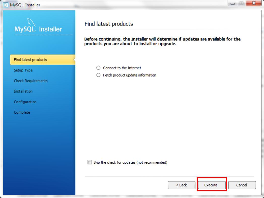 mi04 - Windows 上的 MySQL 安裝教學 (使用 MySQL Installer)