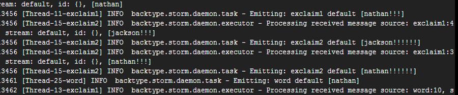 Exclamation - Storm 快速上手:概念、佈署與範例