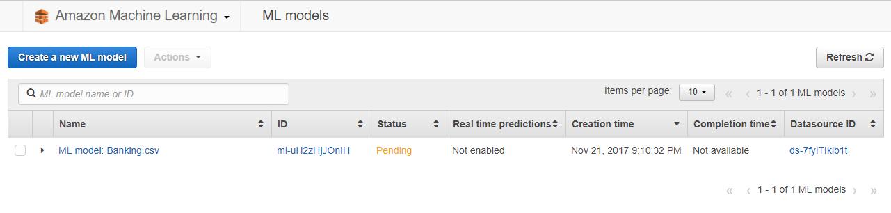 aws ml11 - 透過範例告訴你如何使用 AWS 機器學習服務:Amazon Machine Learning
