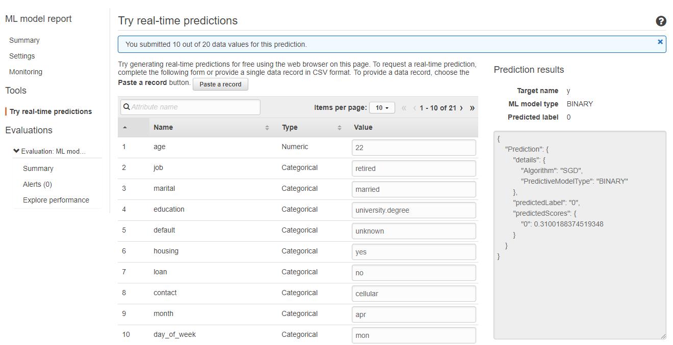 aws ml14 - 透過範例告訴你如何使用 AWS 機器學習服務:Amazon Machine Learning
