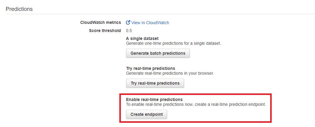 aws ml15 - 透過範例告訴你如何使用 AWS 機器學習服務:Amazon Machine Learning