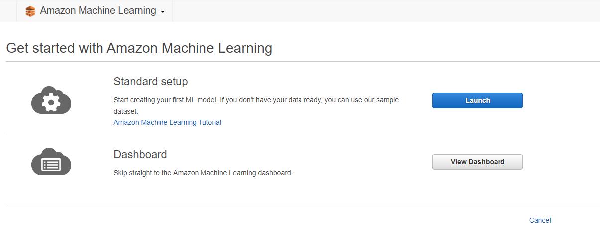 aws ml3 - 透過範例告訴你如何使用 AWS 機器學習服務:Amazon Machine Learning