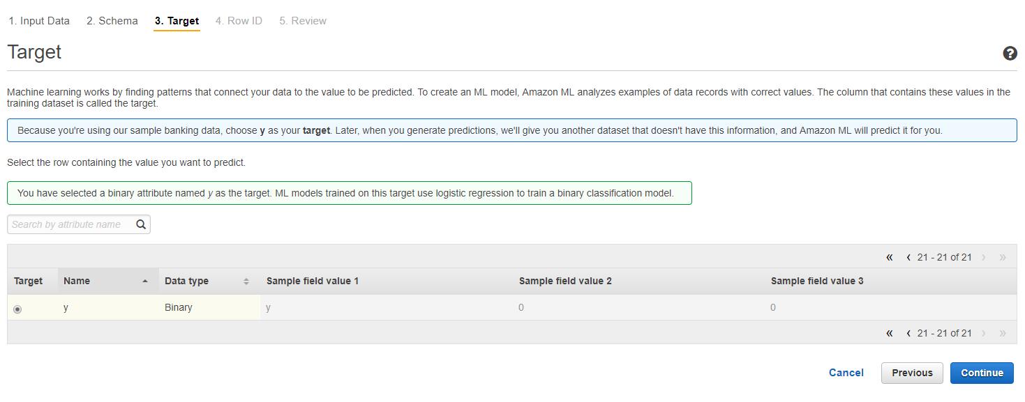 aws ml7 - 透過範例告訴你如何使用 AWS 機器學習服務:Amazon Machine Learning