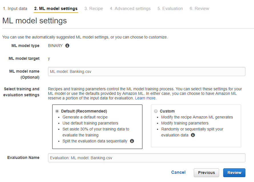 aws ml9 - 透過範例告訴你如何使用 AWS 機器學習服務:Amazon Machine Learning