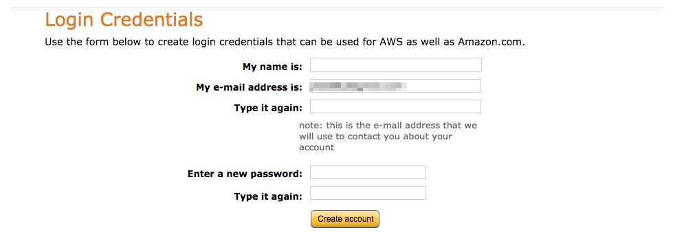 aws signup3 - [教學] 快速註冊 AWS 帳號 (含電話驗證技巧)