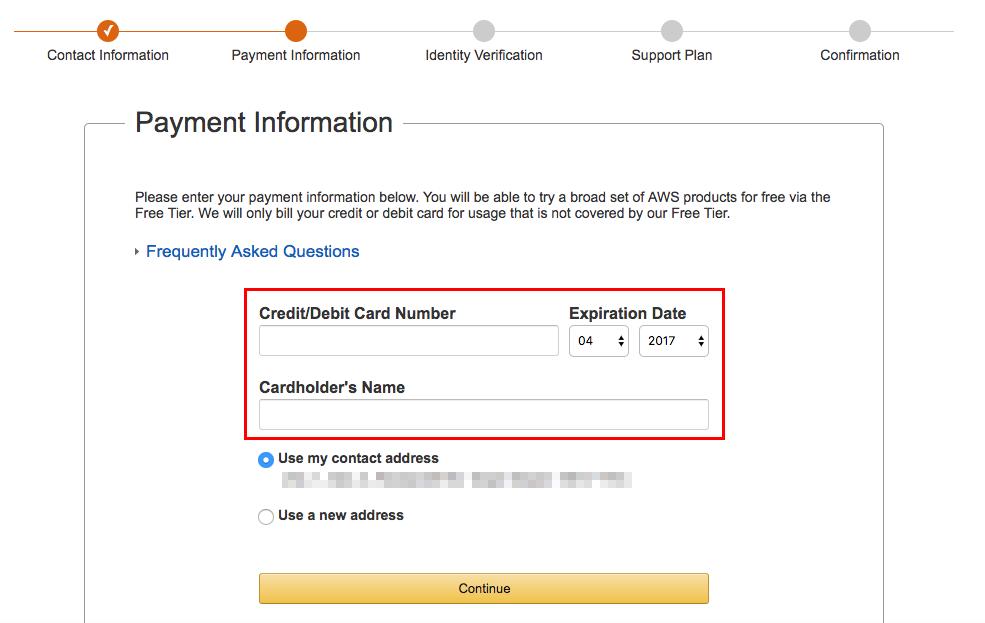 aws signup56 - [教學] 快速註冊 AWS 帳號 (含電話驗證技巧)