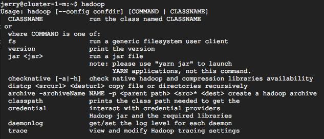 dataproch - [教學] 使用 Cloud Dataproc 架設 Hadoop Cluster