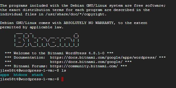 bitnami 1 - 使用 Google Cloud Launcher 快速架設 WordPress 與自訂網域