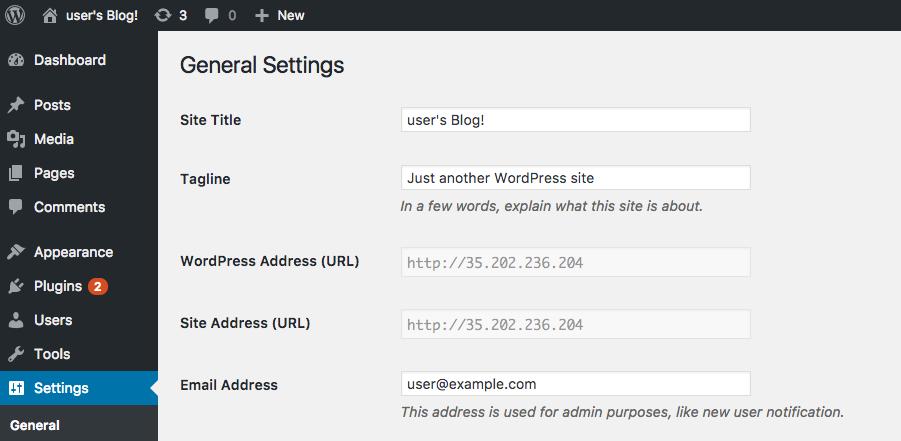 bitnami - 使用 Google Cloud Launcher 快速架設 WordPress 與自訂網域