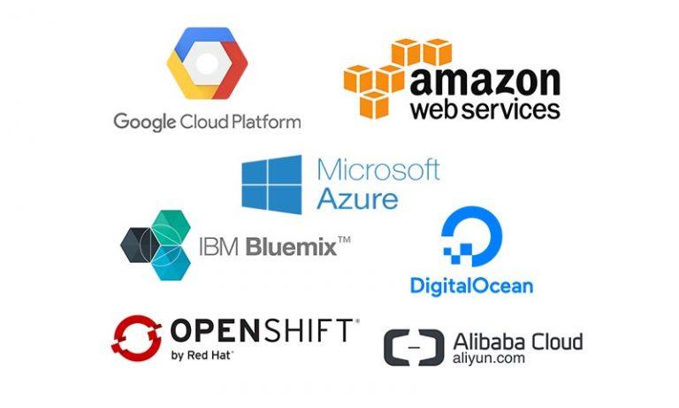 clouds 768x461 - 免費雲端資源大彙整:GCP, AWS, Azure, Bluemix, DigitalOcean, Openshift, Ali Cloud