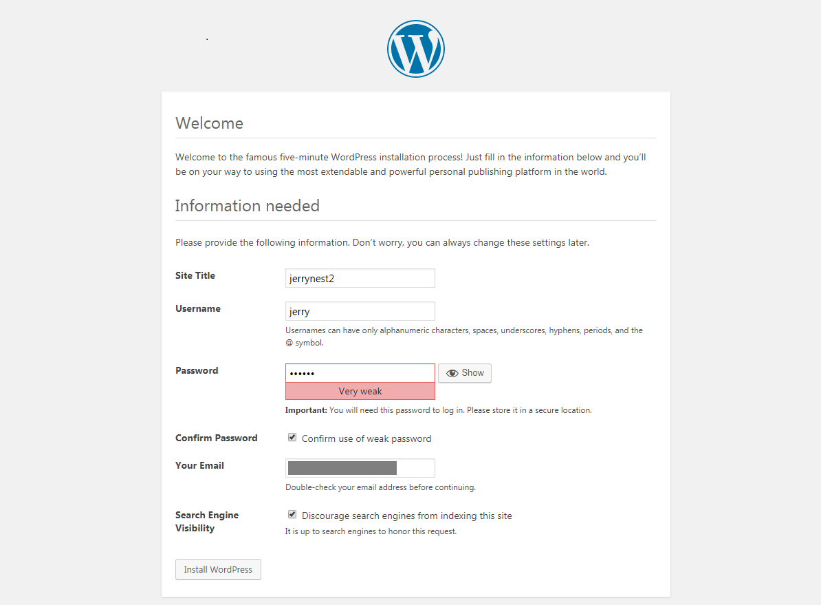 os3 wp4 - [教學] 使用 Openshift (v3) 架設 WordPress