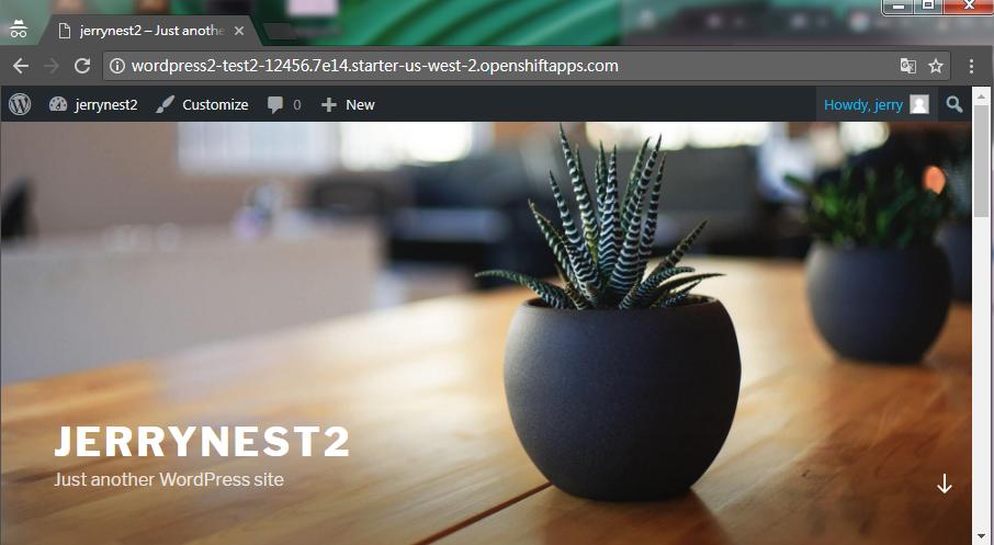 wp445 - [教學] 使用 Openshift (v3) 架設 WordPress