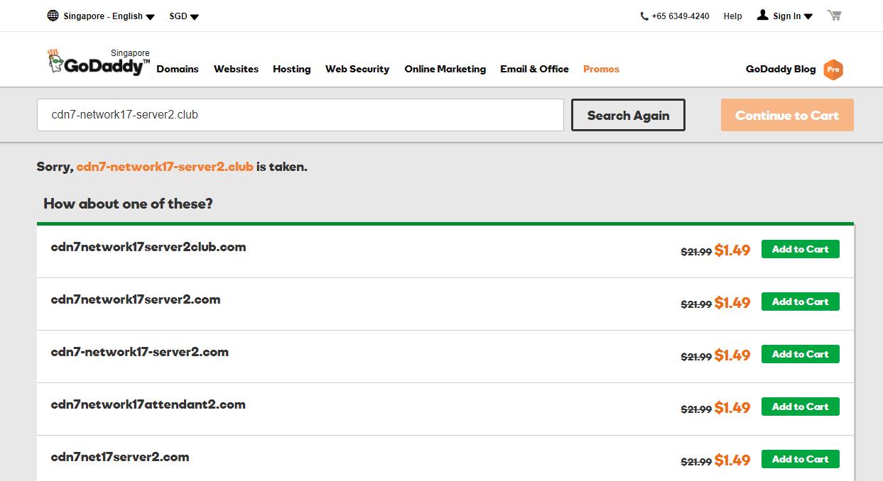 dns scam4 - 不斷變換網域名稱的詐騙網站:恭喜,您是今天的幸運贏家