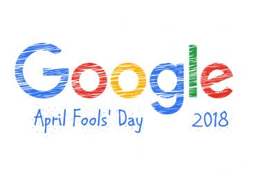 google fool 370x250 - 2018 愚人節 Google 推出的 8 個惡搞服務整理