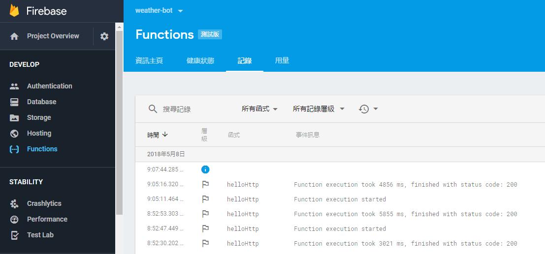 firebase - [Actions on Google 課程筆記] 透過 Dialogflow + Firebase + Line 輕鬆打造自己的智慧助理