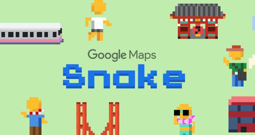google snake - 2019 愚人節 Google 推出的 8 項惡搞服務整理