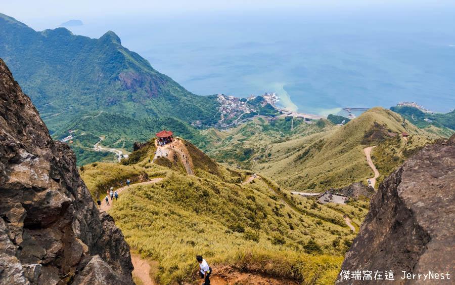 teapot 23 - 新北瑞芳|登上無耳茶壺山,遠眺陰陽海感受金瓜石壯闊山景
