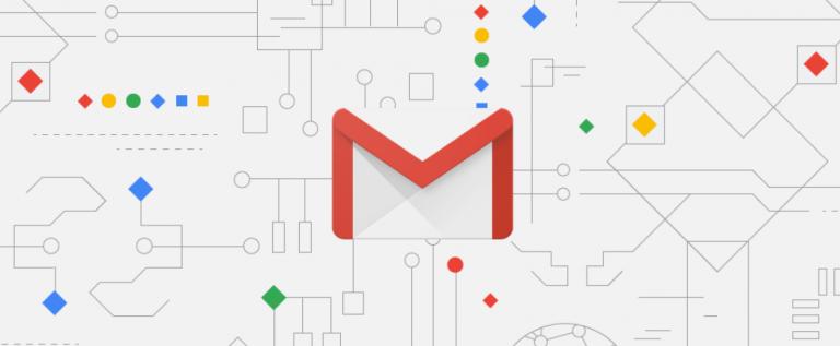 gmail 768x317 - 聰明方便!帶你體驗 G Suite 企業版的各項雲端協作功能
